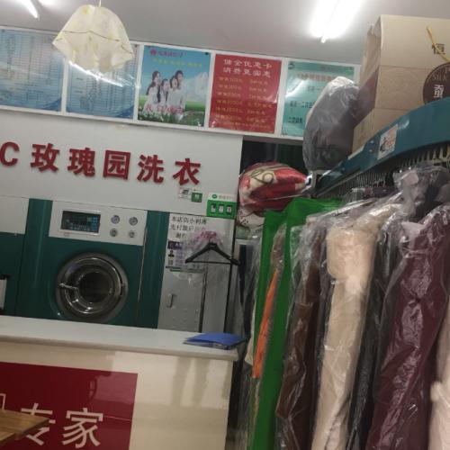 北市区天骄北麓小区品牌干洗店低价转让、可空转做餐饮