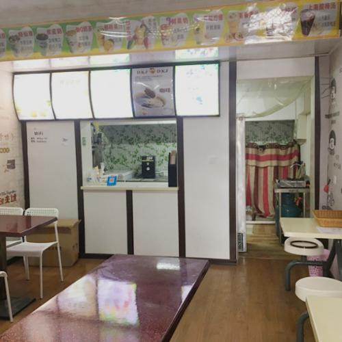 朝阳广场公园路体校内30平奶茶店转让