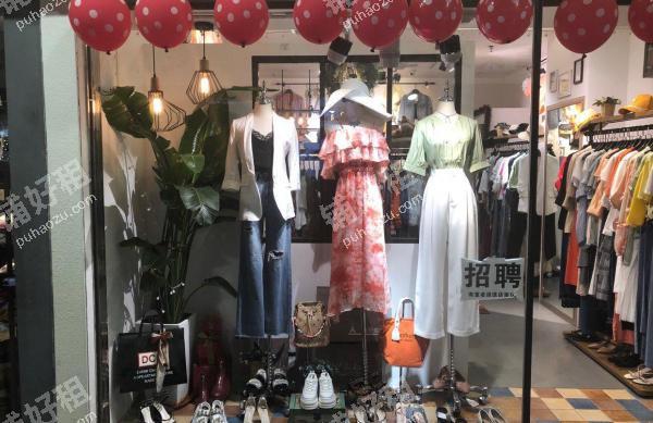 东川路较场西路26平米服装店转让