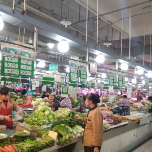 广埠屯菜场摊位低价招租