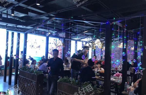 三峡广场354平米酒楼餐饮出租