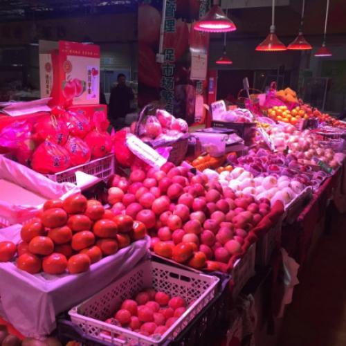 紫葵易购生鲜电商创业园水果店诚心转让