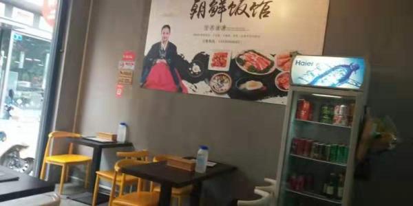 黄埔区萝岗万科东荟城南门108平米韩国料理店转让