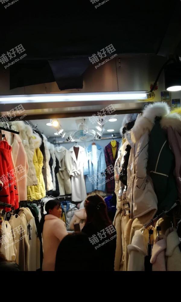 大西门瑞金中路13平米服装店出租