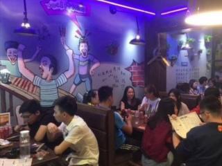 长兴岑村东街110平米餐饮转让
