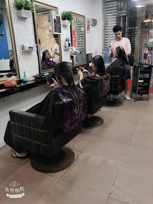 天河区棠东丰乐路40平米美发店转让