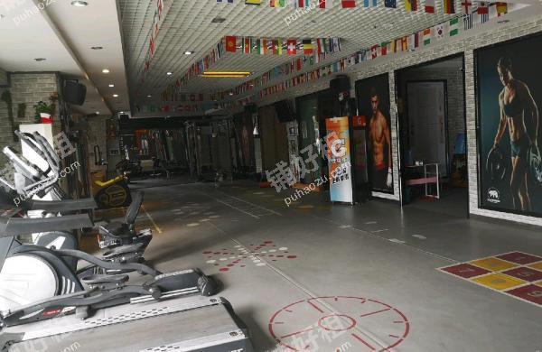 体育中心天体环路400平米健身房转让