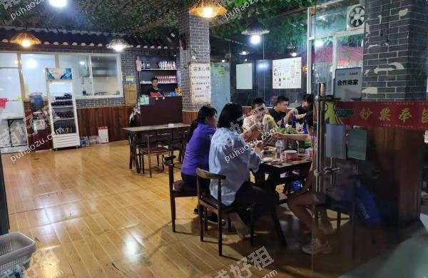 珠江路大庆路130平米酒楼餐饮转让