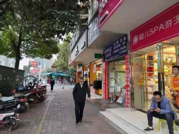 新添寨肉联厂公交站旁临街旺铺转让