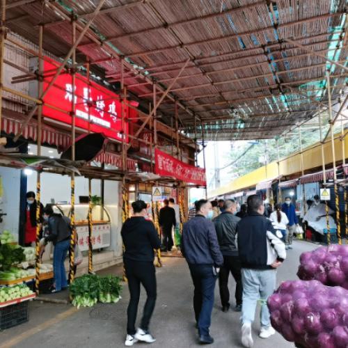 大营坡银佳花园农贸市场门面转让